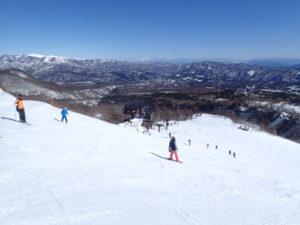 青葉山からの眺望。ここは閉鎖されずに残っている。