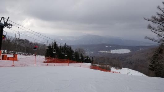 午後には一時雪が。