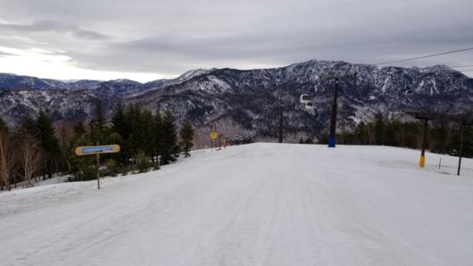 雪は若干汚れているけど、滑走性には問題無し!