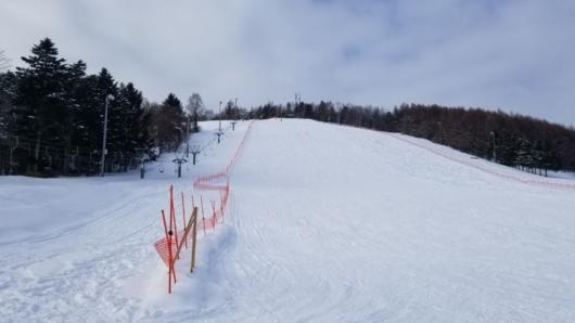 中富良野北星スキー場全景。