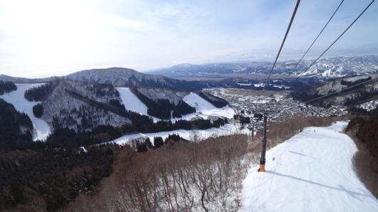 長坂ゴンドラからの眺め。
