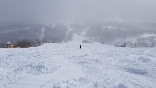 焼額山オリンピックコースの様子。